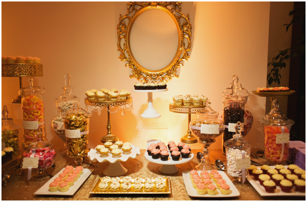 Elegant Wedding Dessert Tables