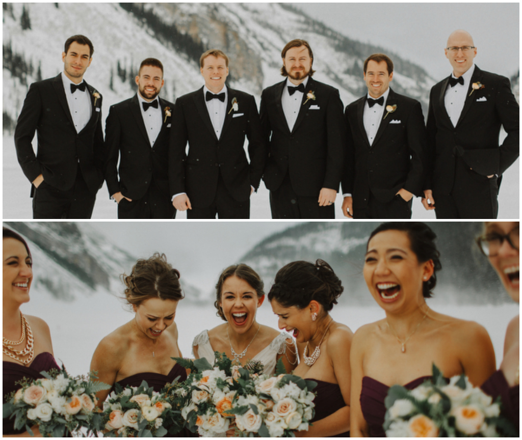 Alberta Winter Wedding