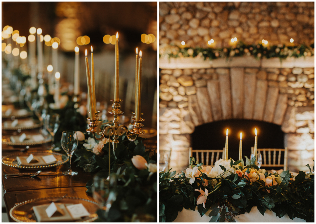 Classic Winter Chateau Wedding