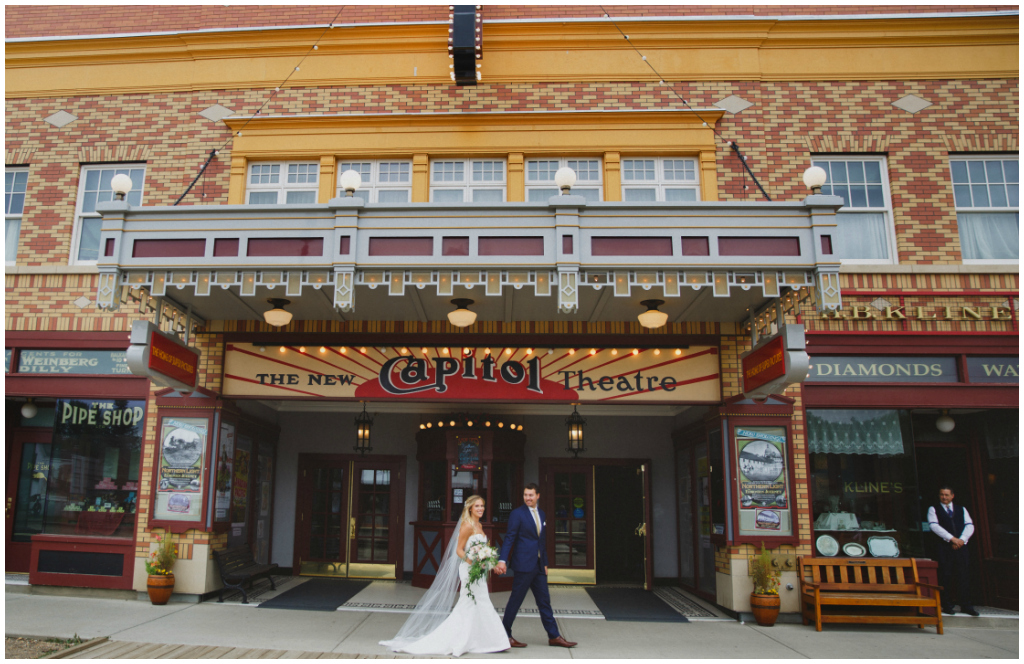 Capitol Theatre Edmonton Wedding
