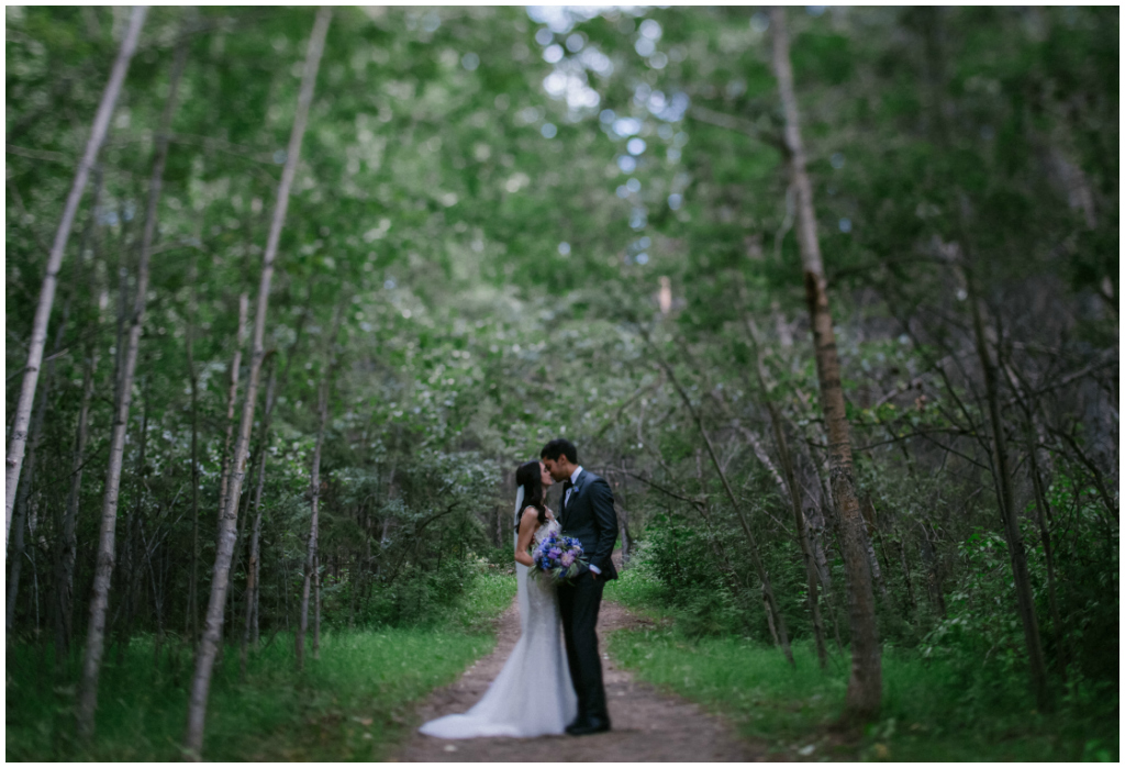 Forest Wedding Photos Edmonton