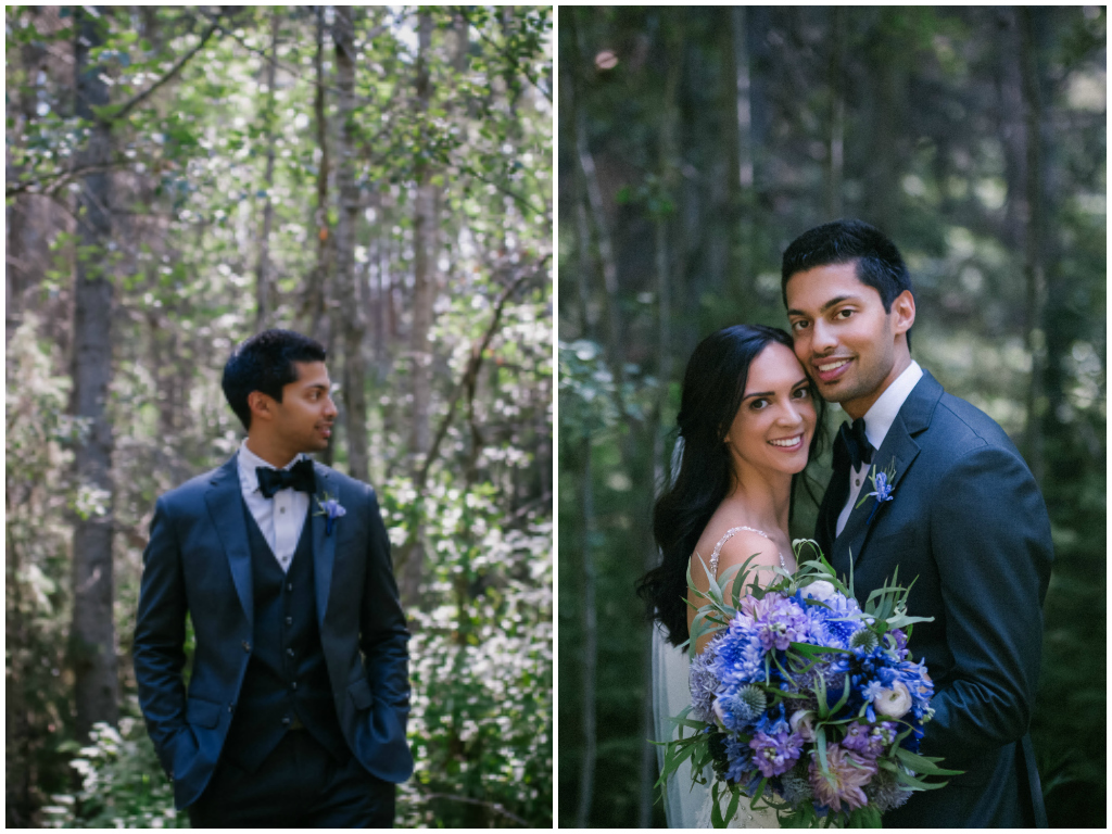 Modern Edmonton Summer Wedding