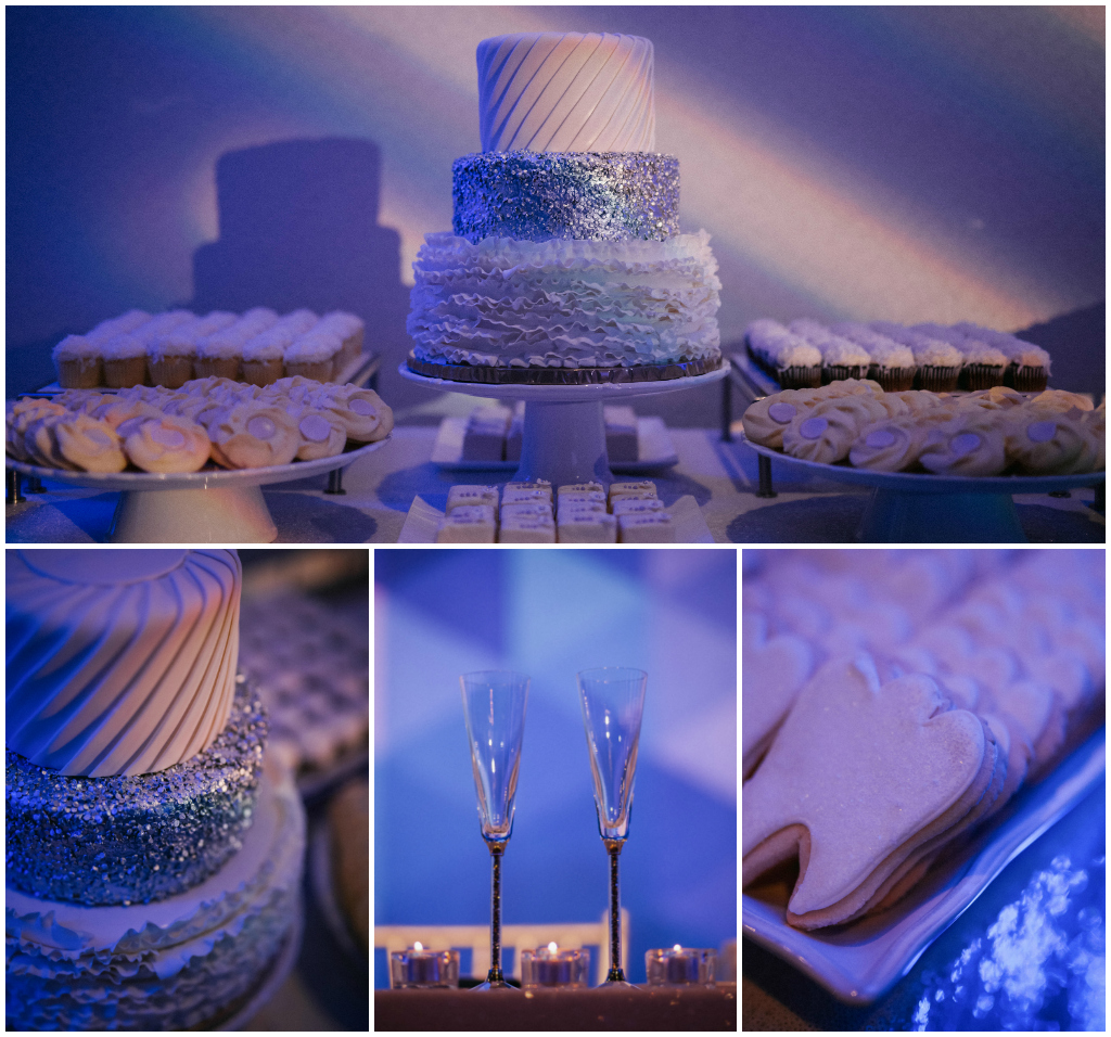 All White Dessert Table, Edmonton Wedding