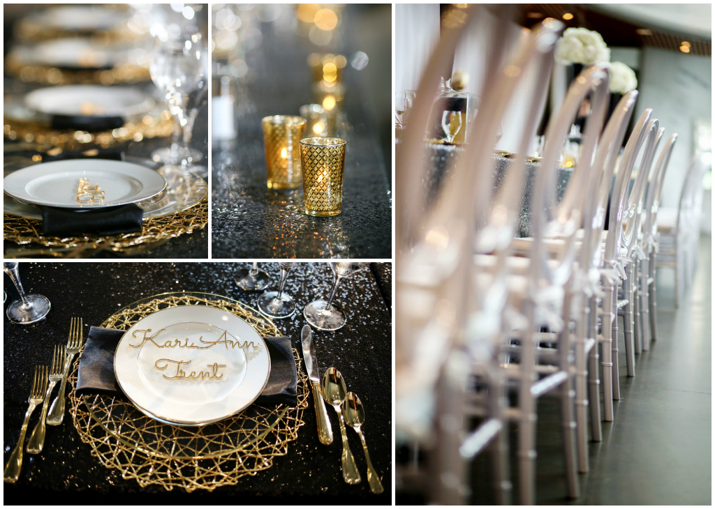 Gold Wedding Accents