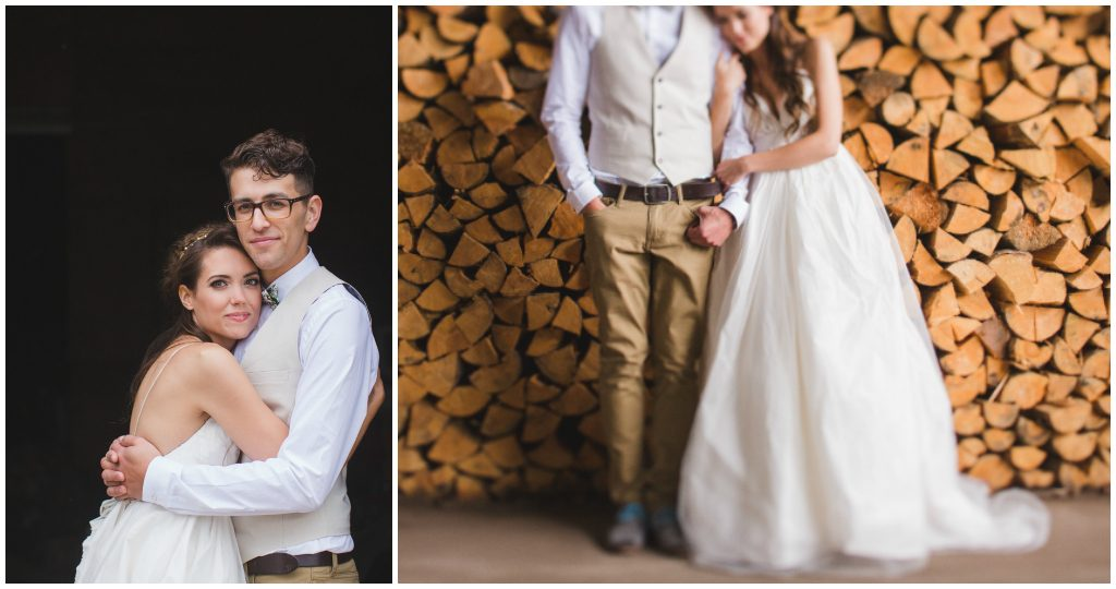 Edmonton Rural Farm Wedding