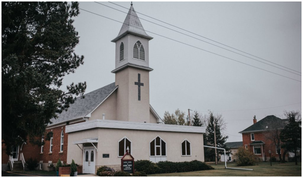 Josephburg Alberta Church Wedding