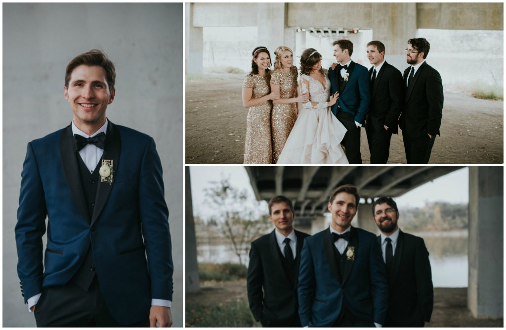 Modern Wedding Party Edmonton