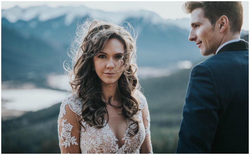 Breathtaking Rocky Mountain Bridal Photos