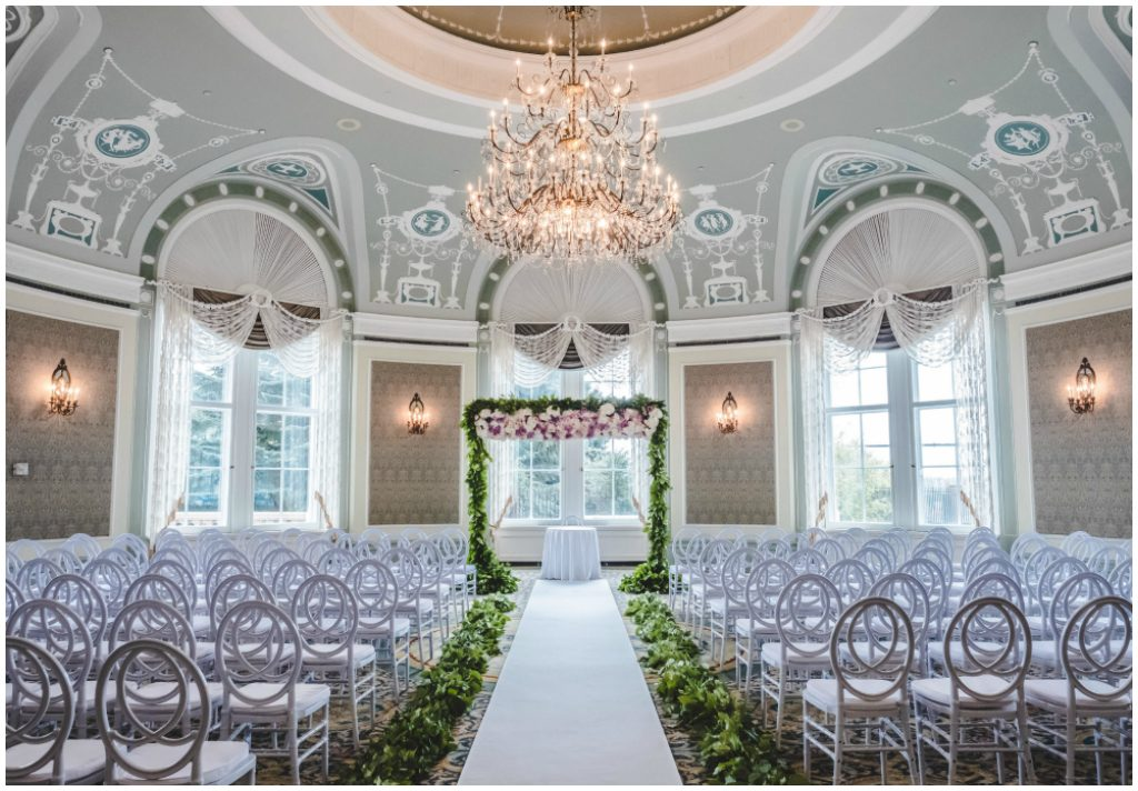 Fairmont Hotel Macdonald Wedgwood Room Wedding