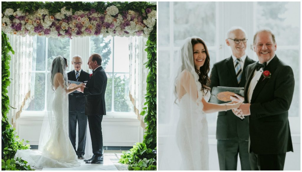 fabloomisty Edmonton Wedding Florist, Luxury Wedding ceremony