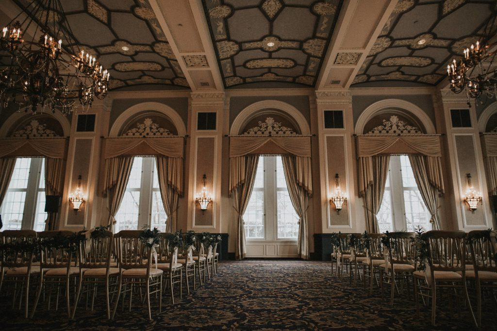 Fairmont Hotel Macdonald Edmonton Empire Ballroom Ceremony