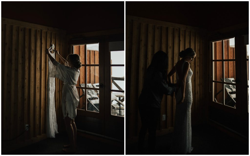 Moody Bridal Photos