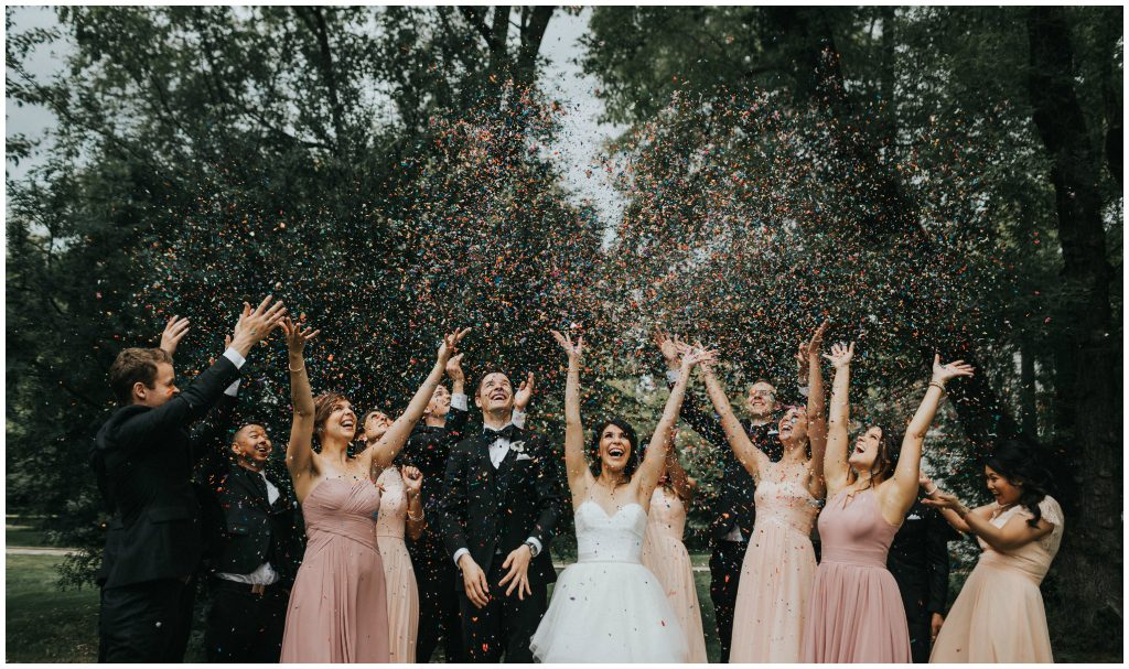 Edmonton Outdoor Confetti Throw