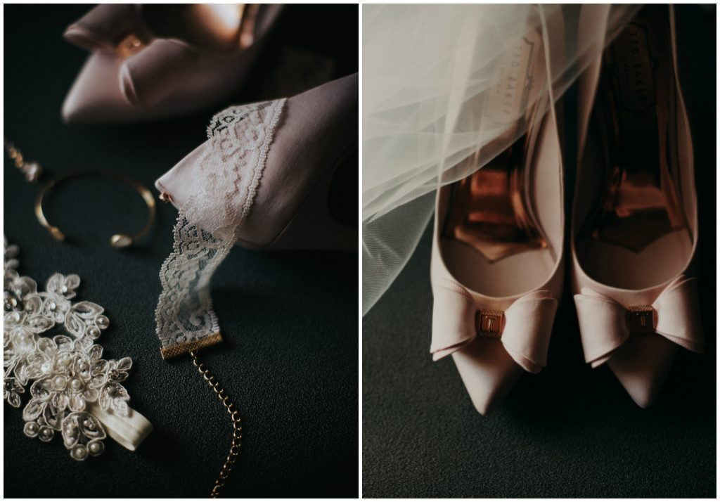 Blush Bridal Heels, Edmonton Blush Wedding Heels