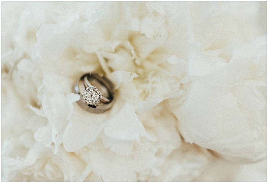 Edmonton Wedding Coordinators, All White Wedding Ring Photo