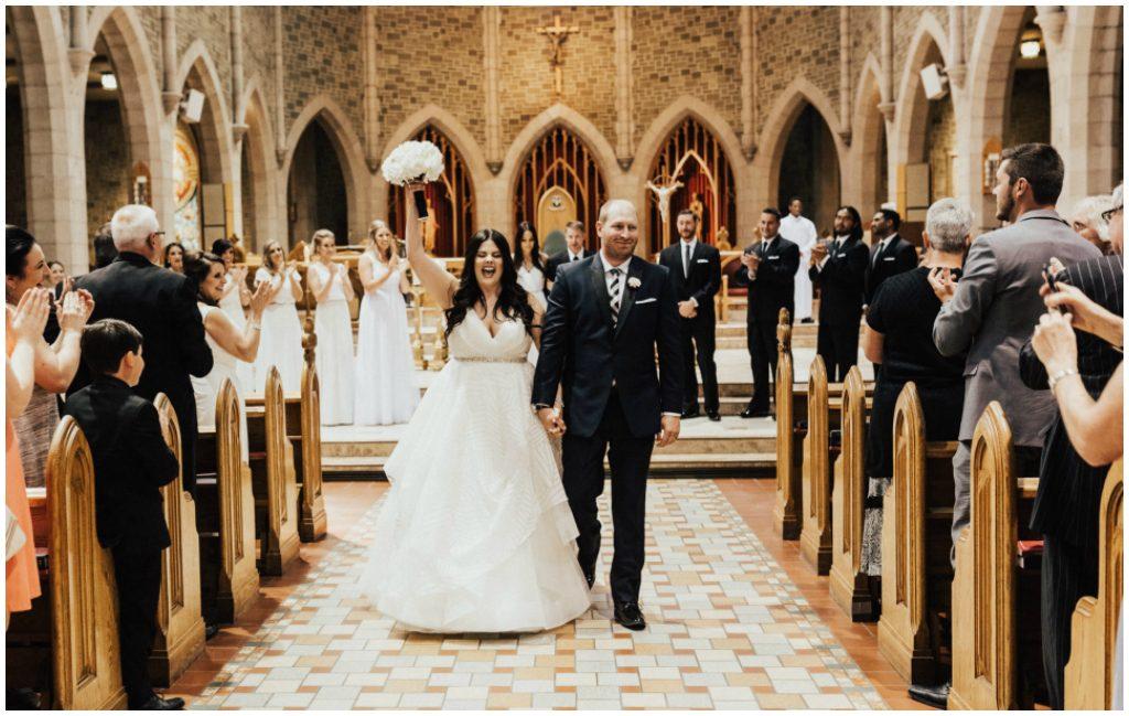 Edmonton St. Joseph's Basilica Wedding