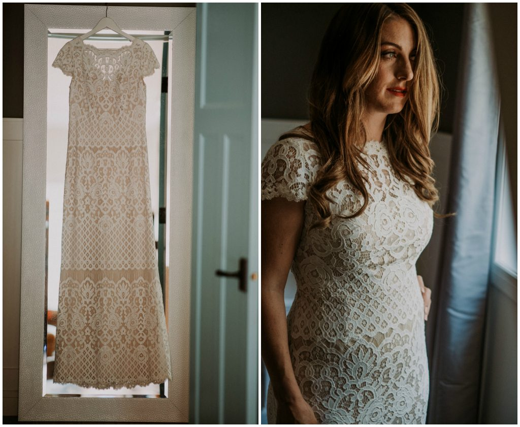 Mixed Lace Bridal Gown, Carey Nash Photography