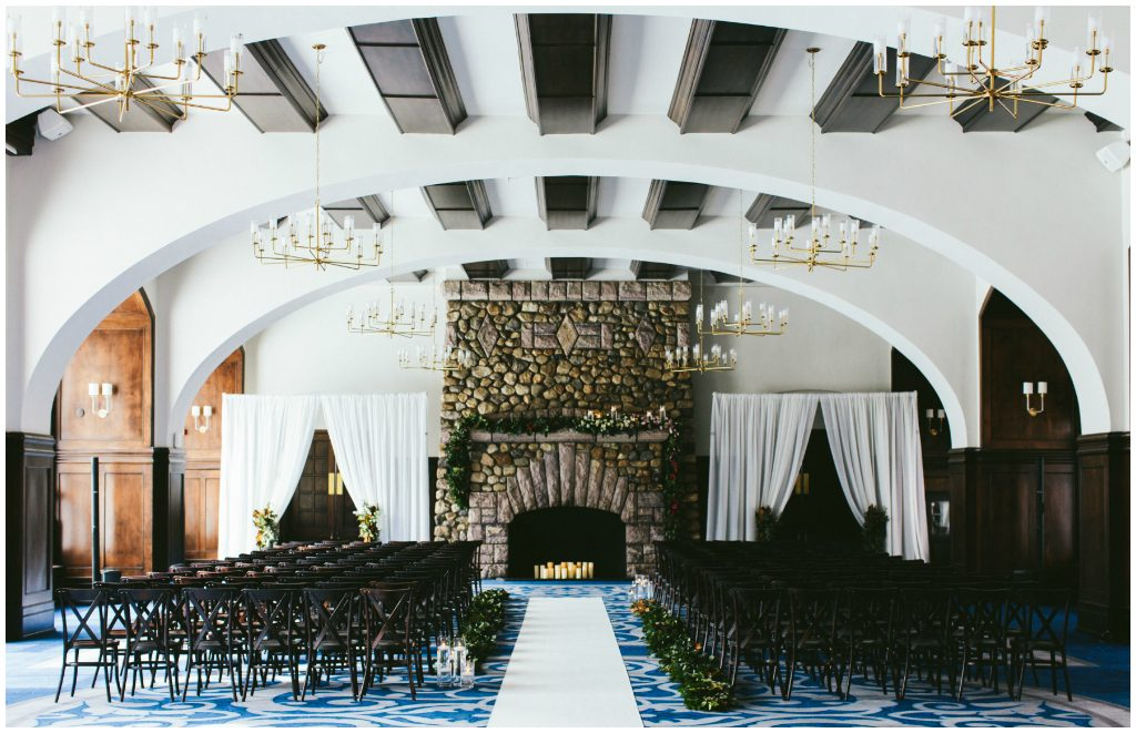 Luxurious Chateau Winter Wedding