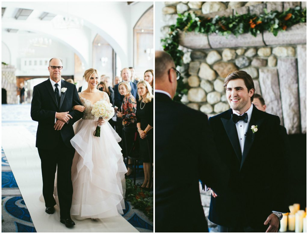 Classic Navy and Blush Wedding