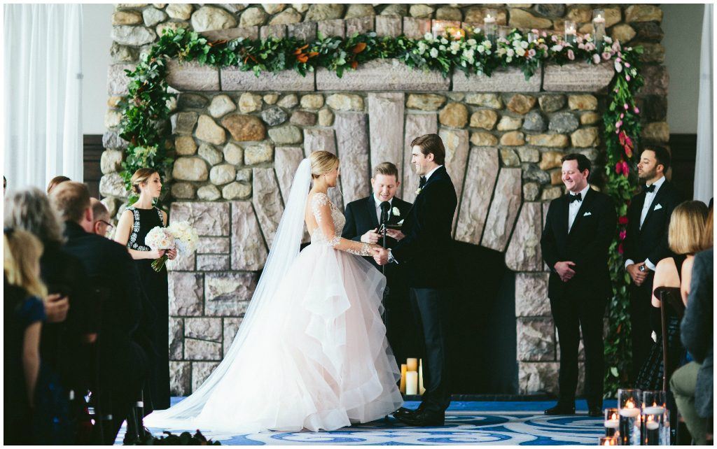 Rocky Mountain Wedding Planner, Chateau Lake Louise Fireplace Ceremony