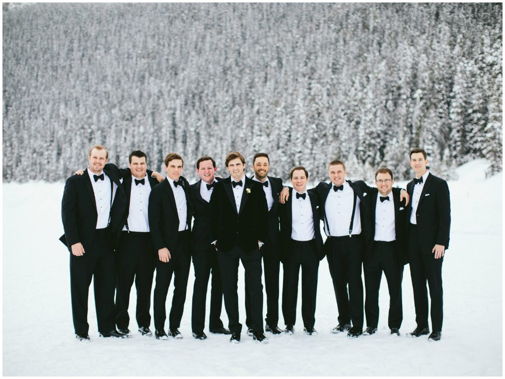 Winter Destination Wedding Fairmont Chateau Lake Louise