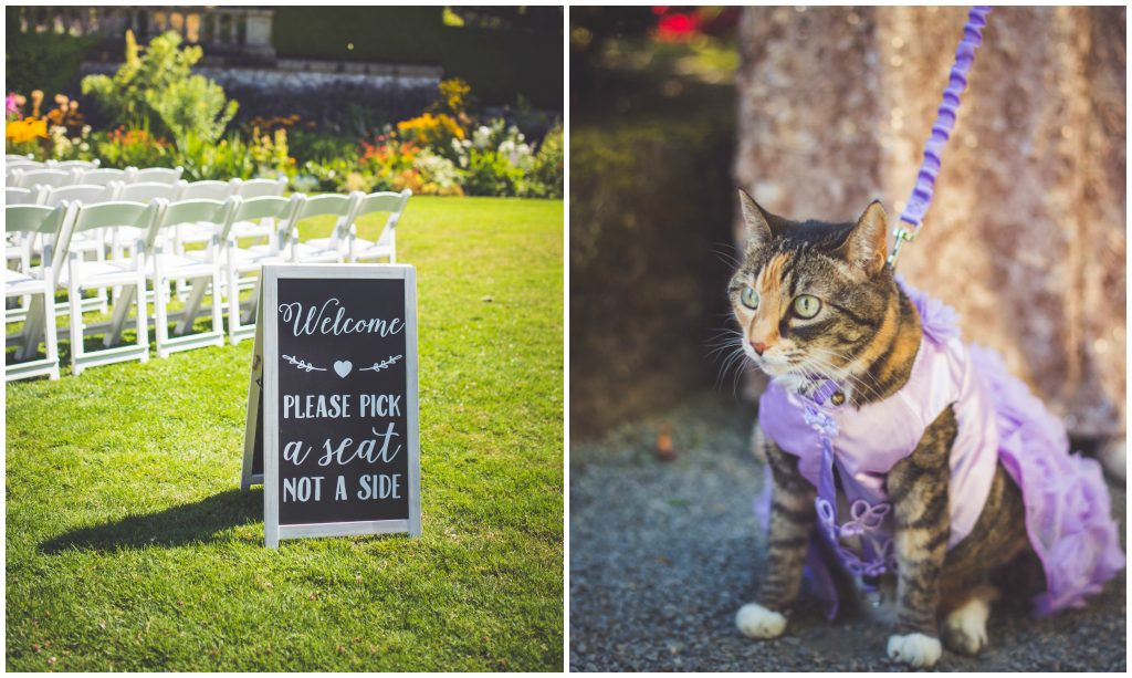 Outdoor Garden Wedding Victoria