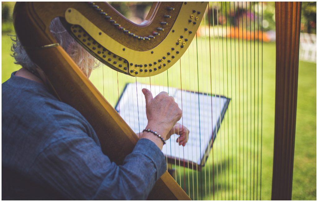 Victoria British Columbia Harpist