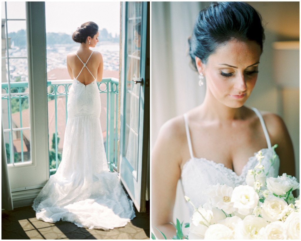 Elegant Bridal Preperation Wedding Photo