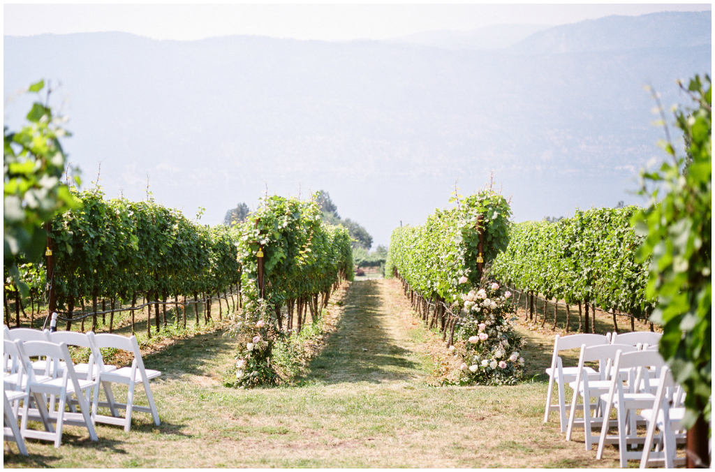 Okanagan Vineyard Wedding Ceremony