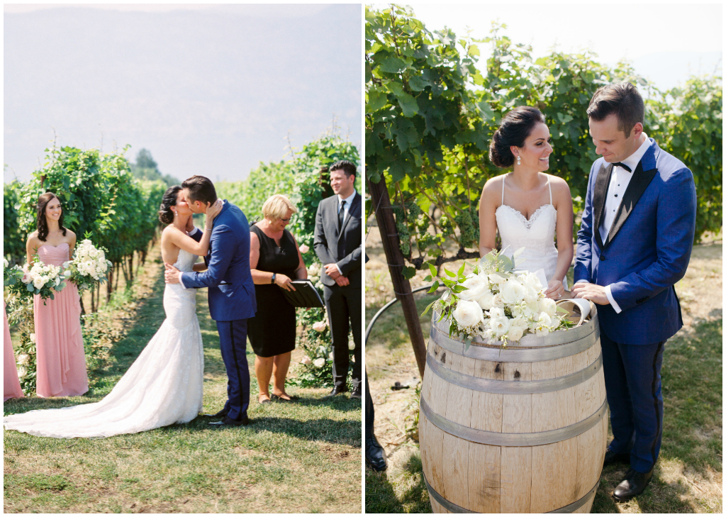 Kelowna Vineyard Wedding, Jenna Hill Photo