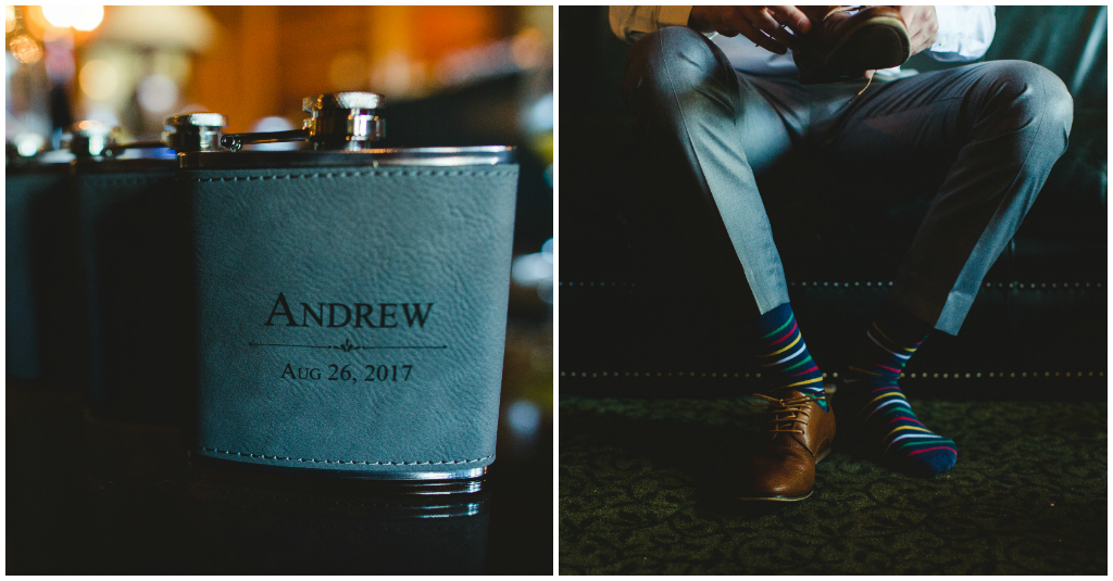 Edmonton Custom Wedding Flask