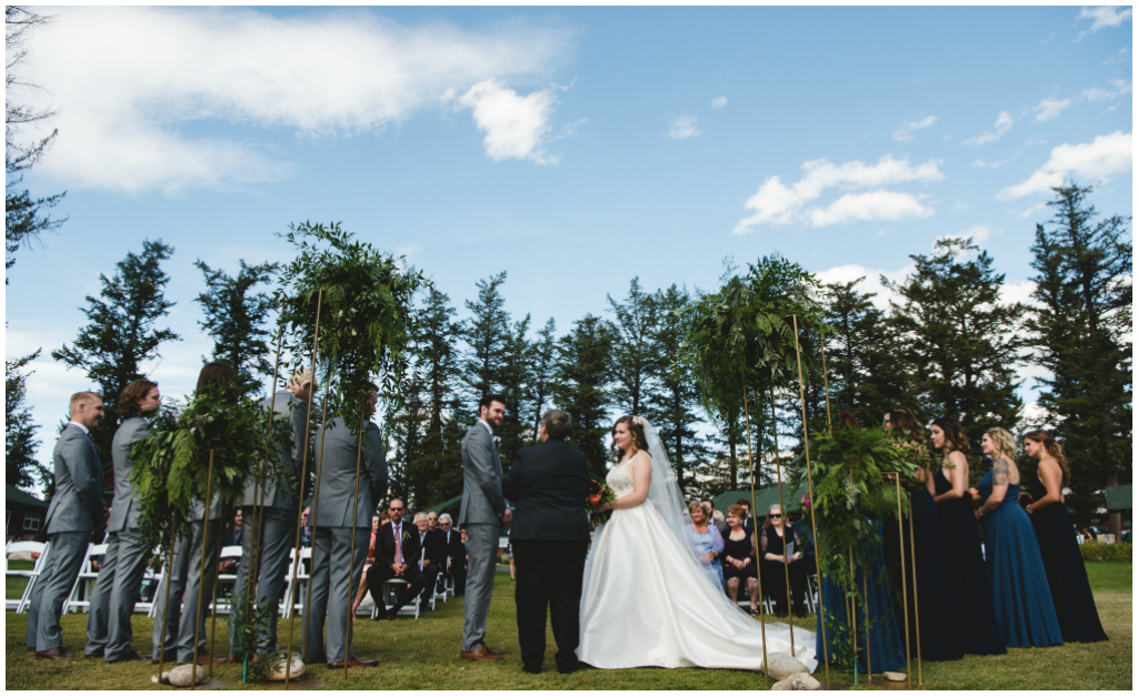 Whistler's Plateau Summer Wedding Ceremony