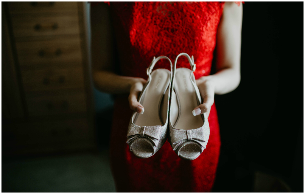 Neutral Bridal Heels