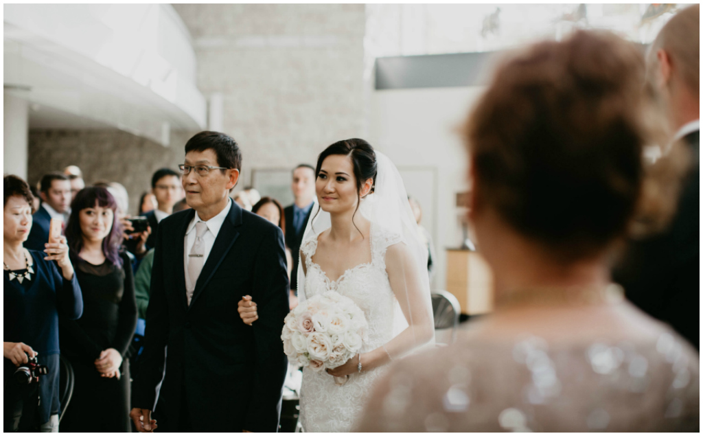 Winspear Edmonton Wedding Ceremony