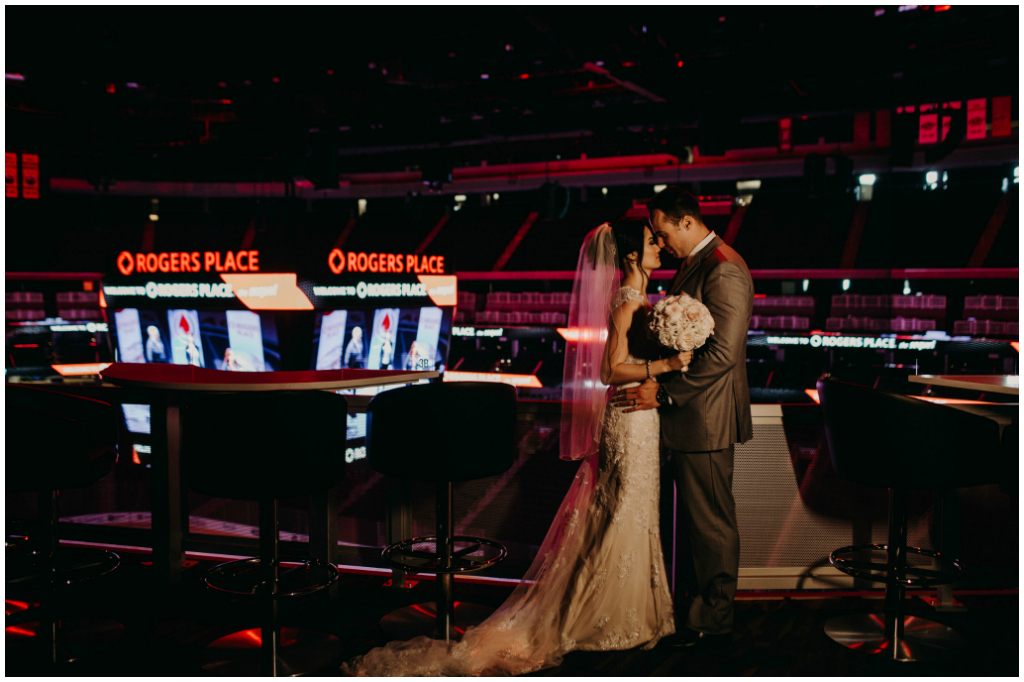 Rogers Place Wedding Photos