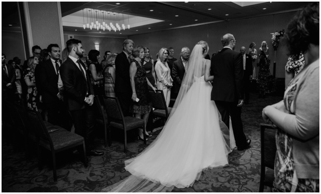 Downtown Edmonton Hotel Wedding