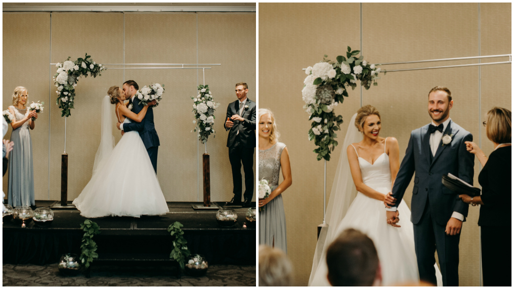 Streamline Wedding Ceremony Decor