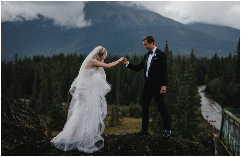 Rainy Summer Jasper Weddings