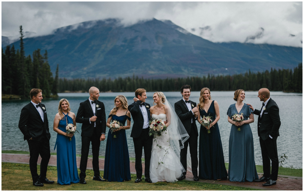 blue bridesmaid dresses wedding