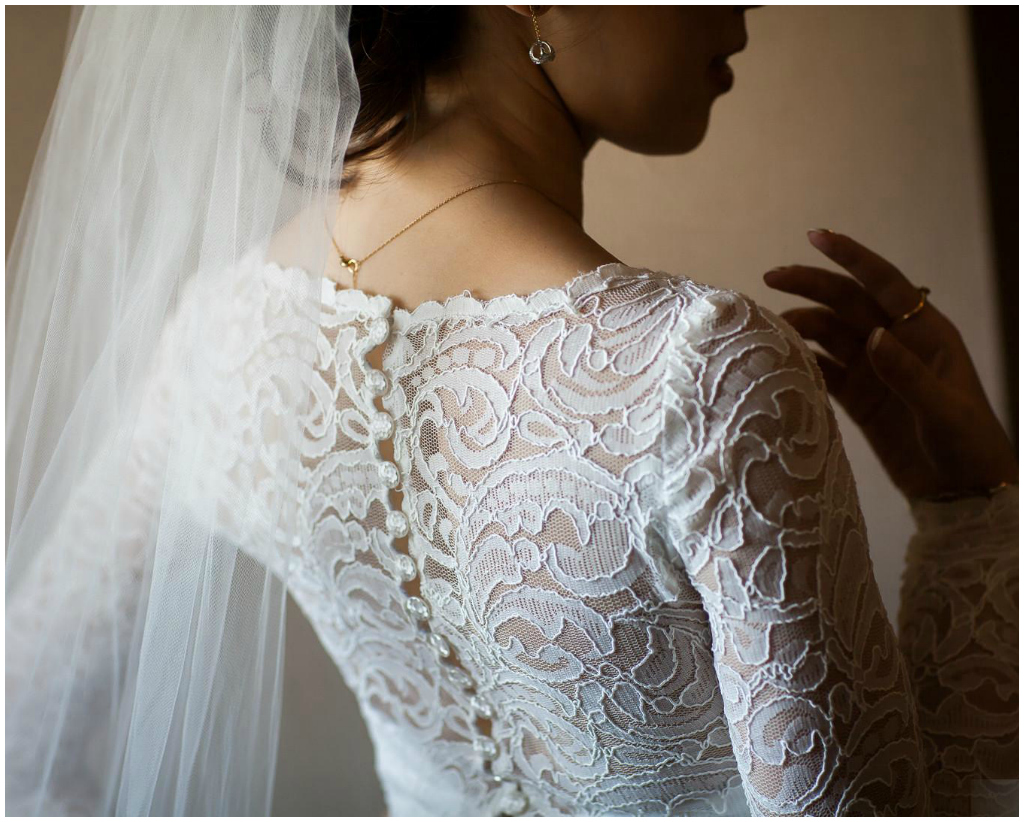 Lace Bridal Top, Infused Studios