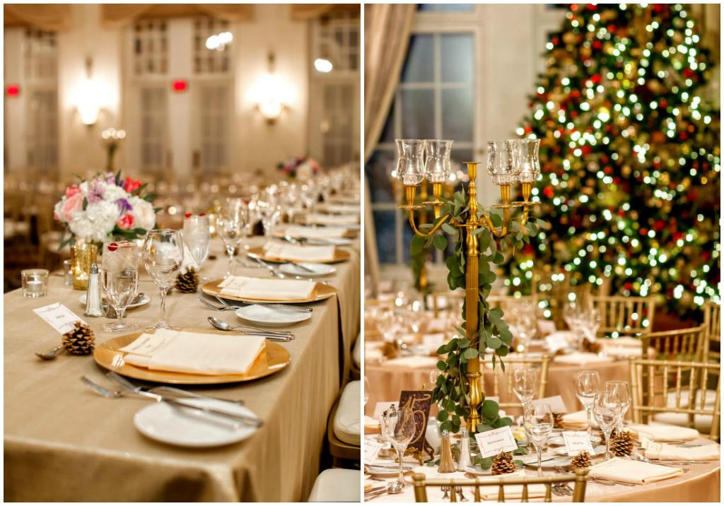 Classic Alberta Winter Ballroom Wedding