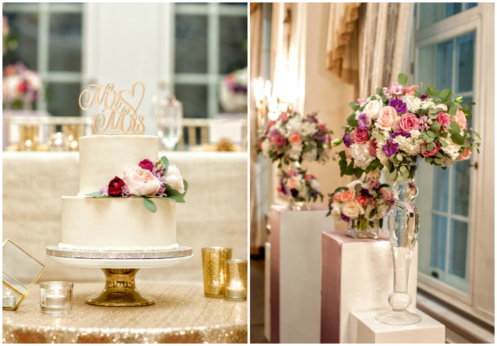 Classic Buttercream White Wedding Cake