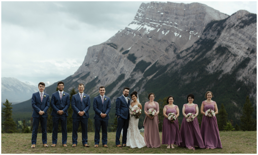 Tunnel Mountain Outdoor Wedding Ceremony