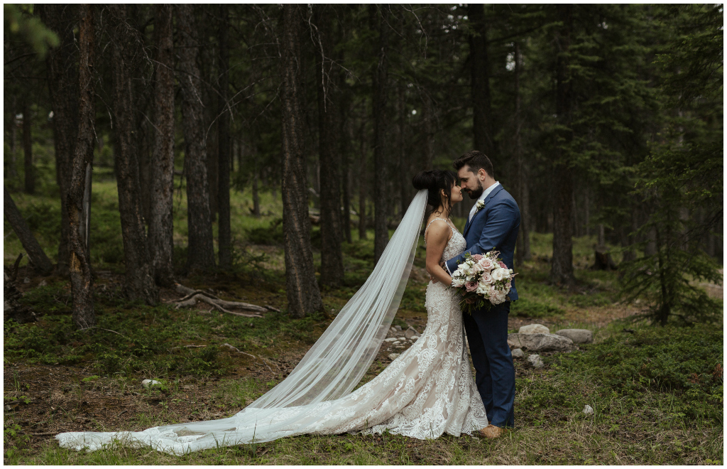 Outdoor Rocky Mountain Wedding