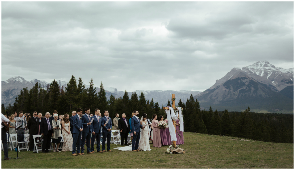 Canmore Summer Wedding
