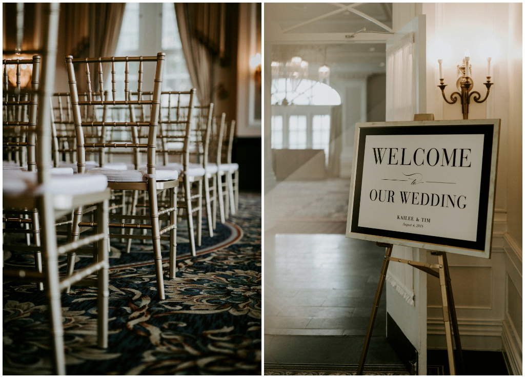 Gold Chiavari Ballroom Wedding