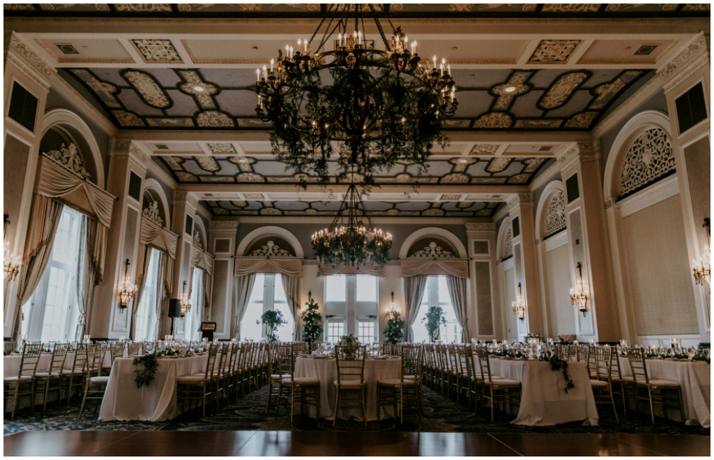 Classic White and Gold Ballroom Wedding Edmonton