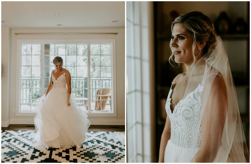 Hayley Paige Bridal Gown Edmonton