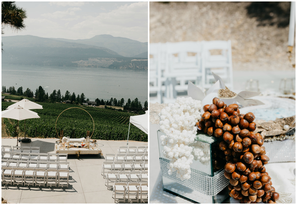 Outdoor Wedding Ceremony Kelowna