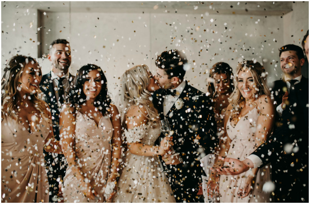Confetti Kiss Edmonton Wedding